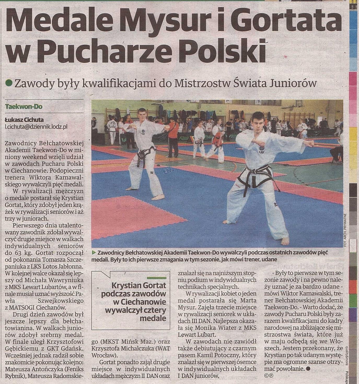 Dziennik Łódzki 10.03.2015