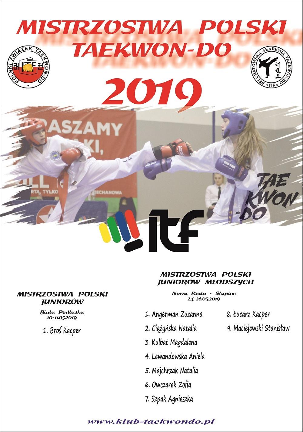 Kwalifikacje do MPJ i MPJM - BAT Bełchatów 2019
